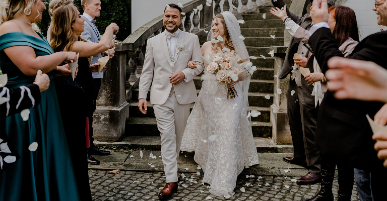 Boho Hochzeit Hochzeitsfotograf Brautpaar